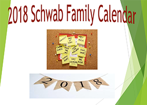 icon to download the 2018 Schwab Family Calendar